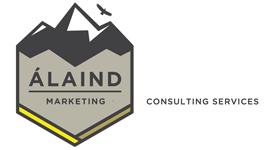 Álaind Marketing Logo